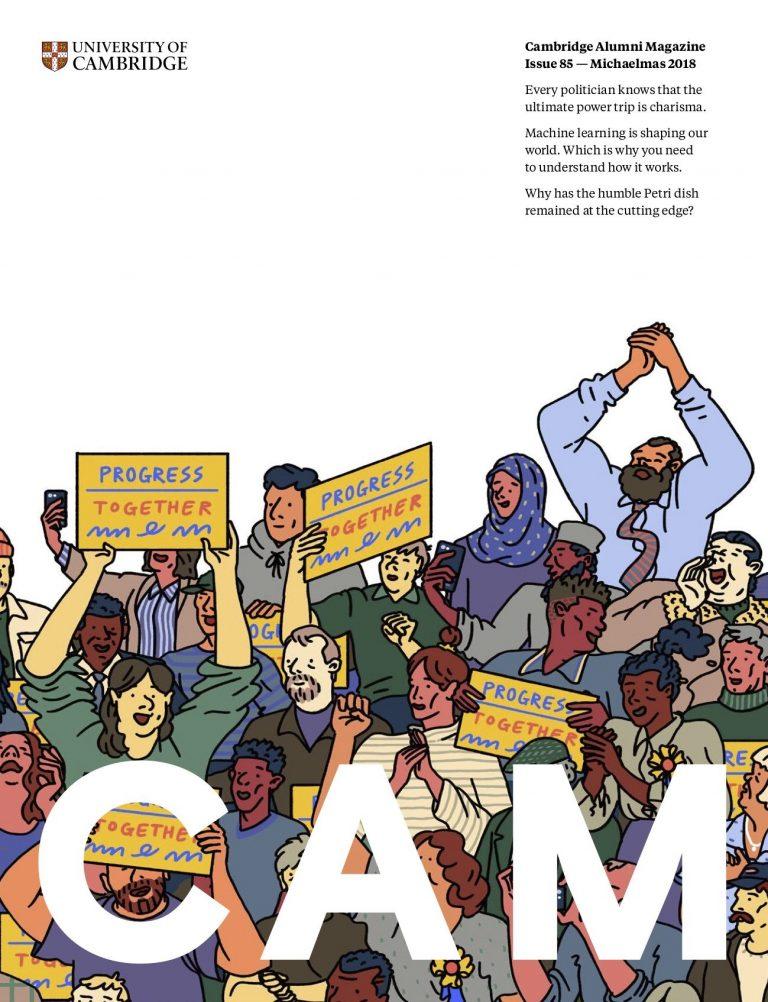 Cover image of Cambridge Alumni Magazine Issue 85 — Michaelmas 2018