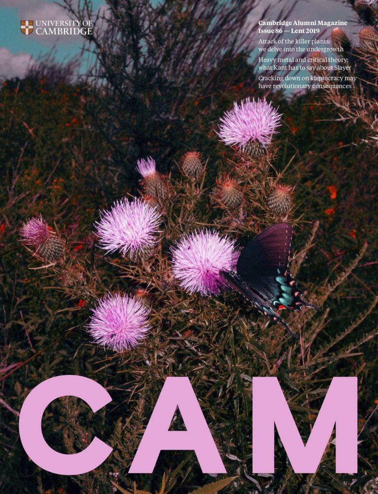 Cover image of Cambridge Alumni Magazine Issue 86 — Lent 2019
