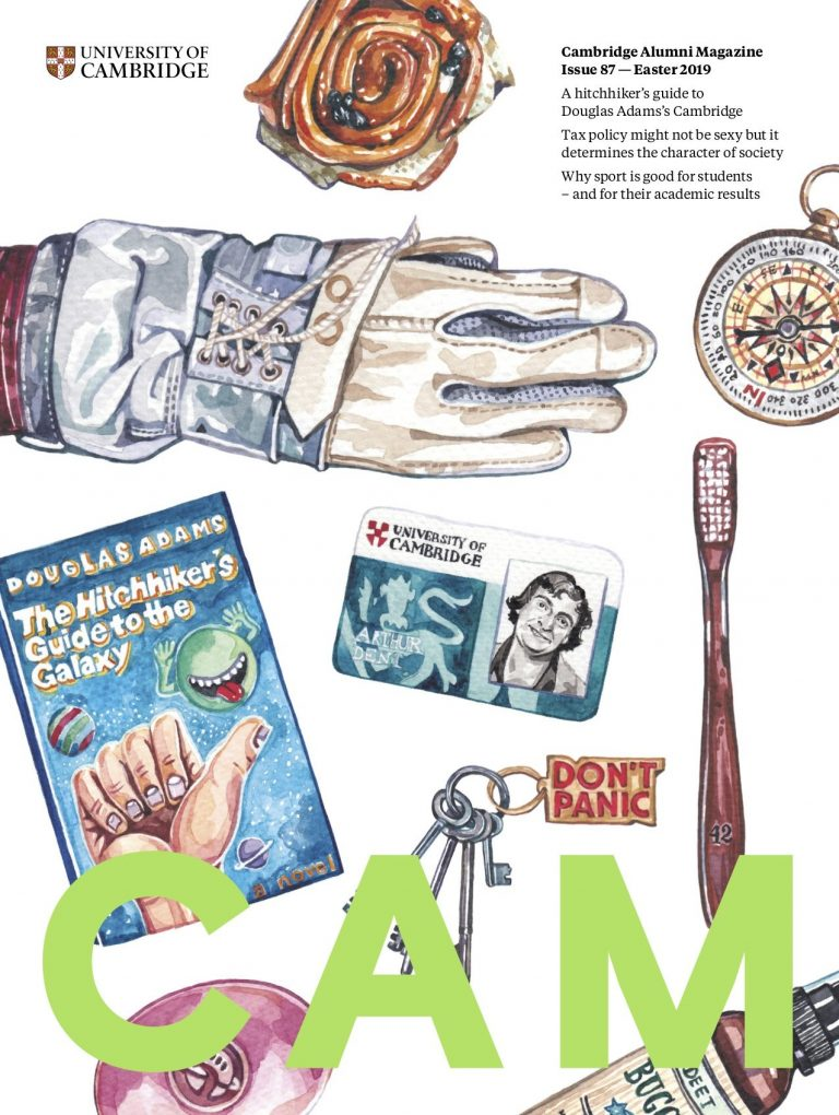 Cover image of Cambridge Alumni Magazine Issue 87 — Easter 2019