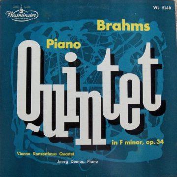 Johannes Brahms album artwork