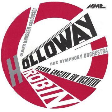 Robin Holloway album artwork