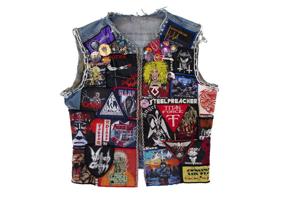 Metal inspired jacket