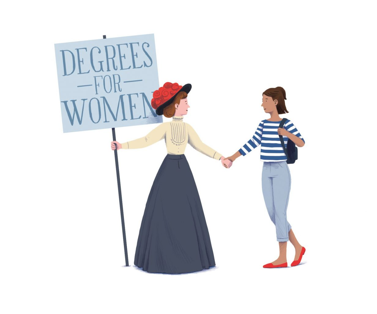 Women at Cambridge then and now
