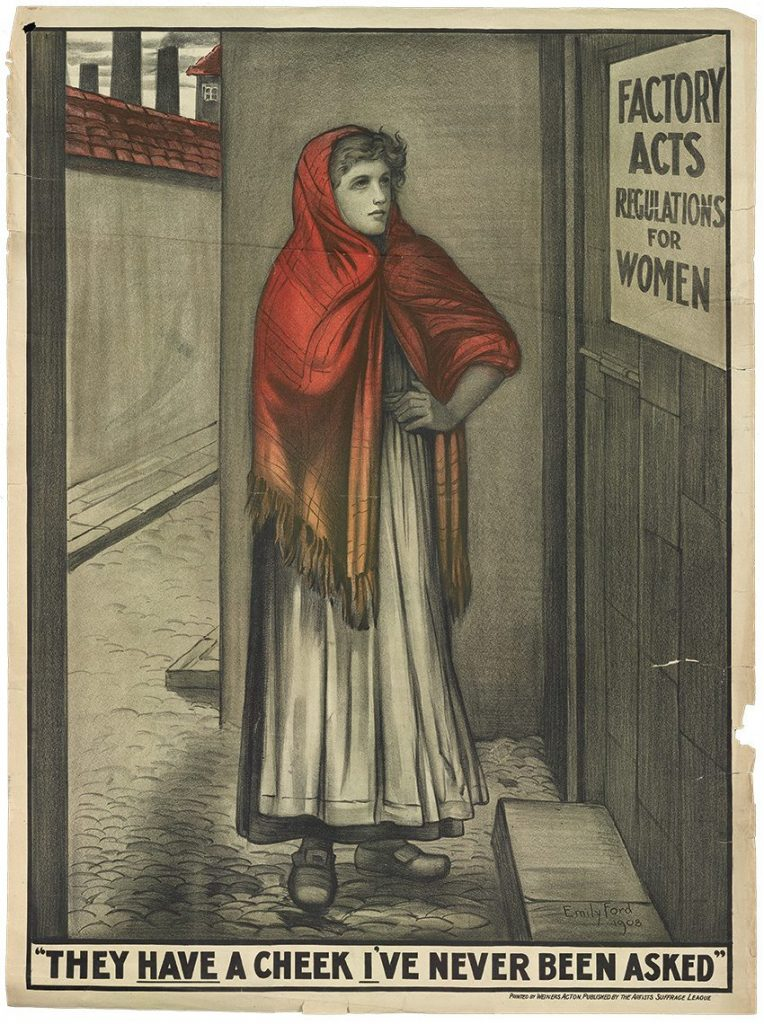 A suffrage poster