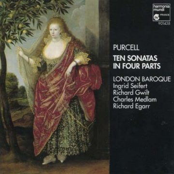Henry Purcell ten sonatas in four ways album cover