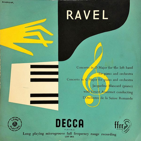 Ravel album artwork