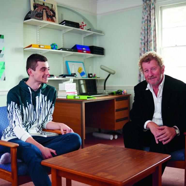 Fraser Waters and Sebastian Faulks