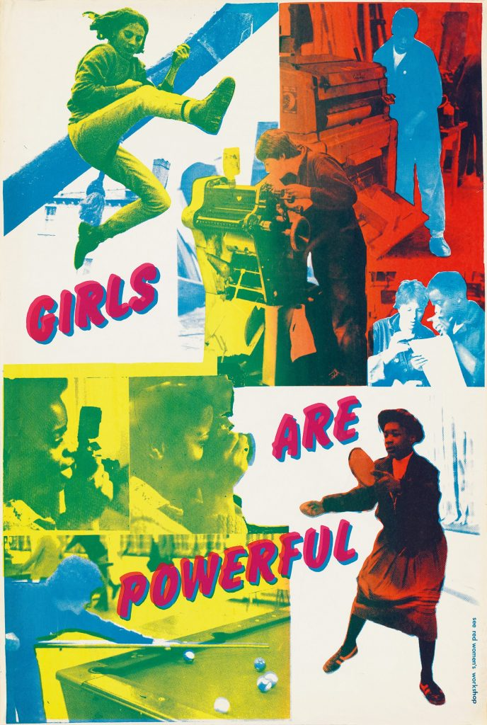 A poster by See Red Women's Workshop