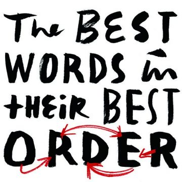 The Best words in their best order
