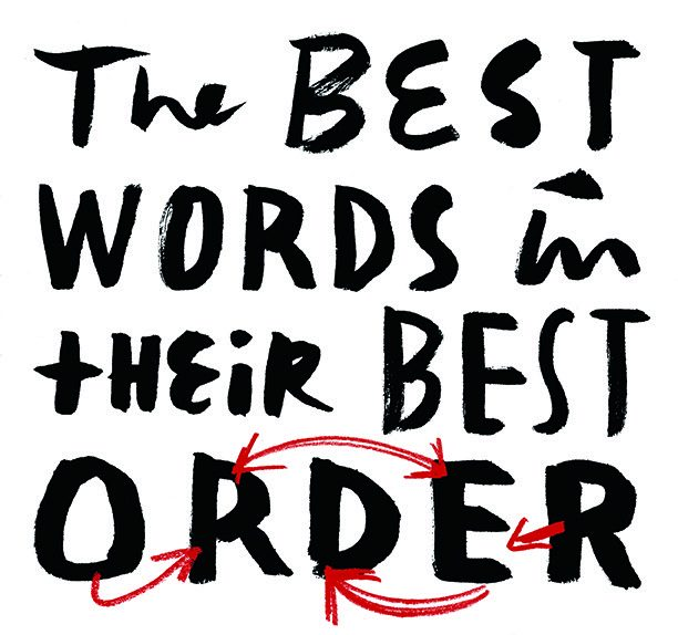 The Best words in their best order