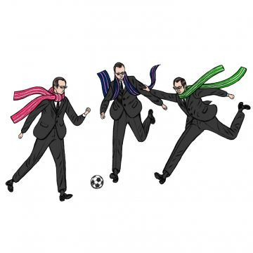 Agent Smiths playing football