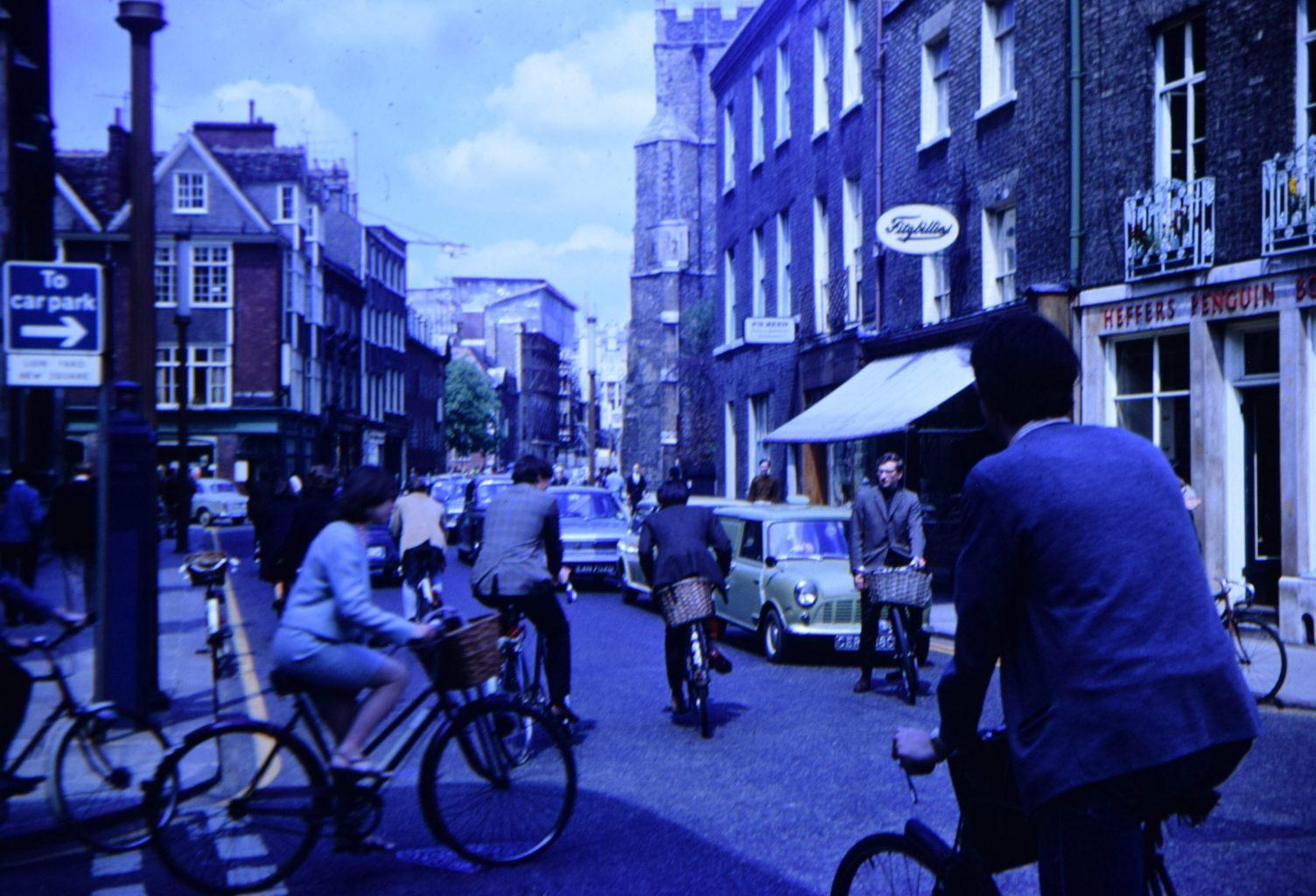 Street view of Fitzbillies in 1967