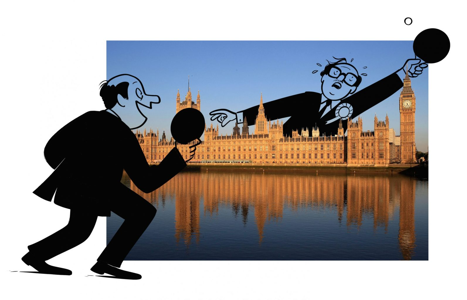 MPs playing ping-pong over Parliament