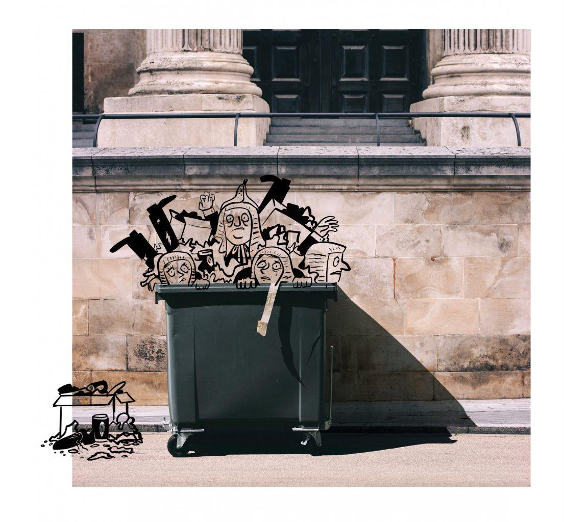 Lords in bin