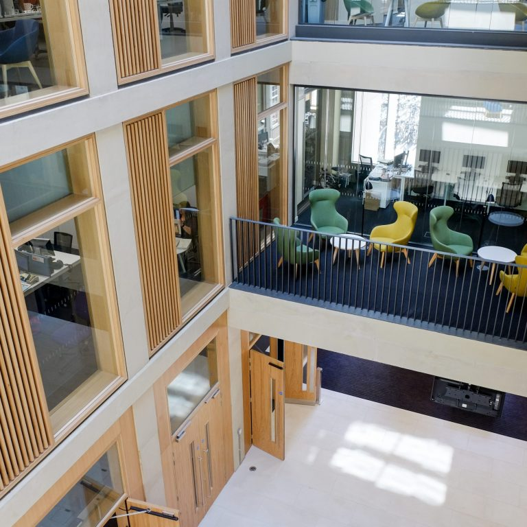 Student Services Centre which houses the Careers Service