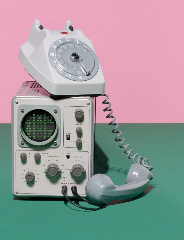 Rotary telephone and early computer