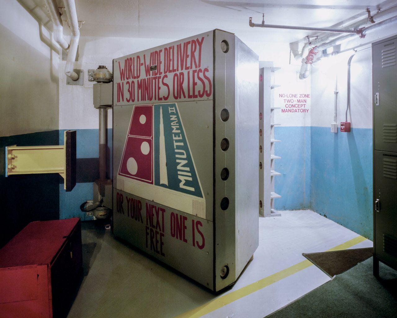 Minuteman II blast door